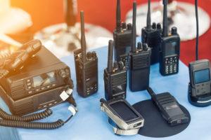 walkie talkie equipment