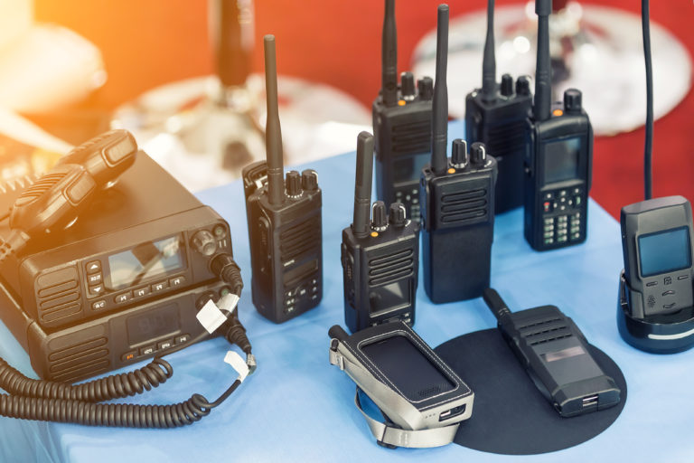 walkie talkie equipment