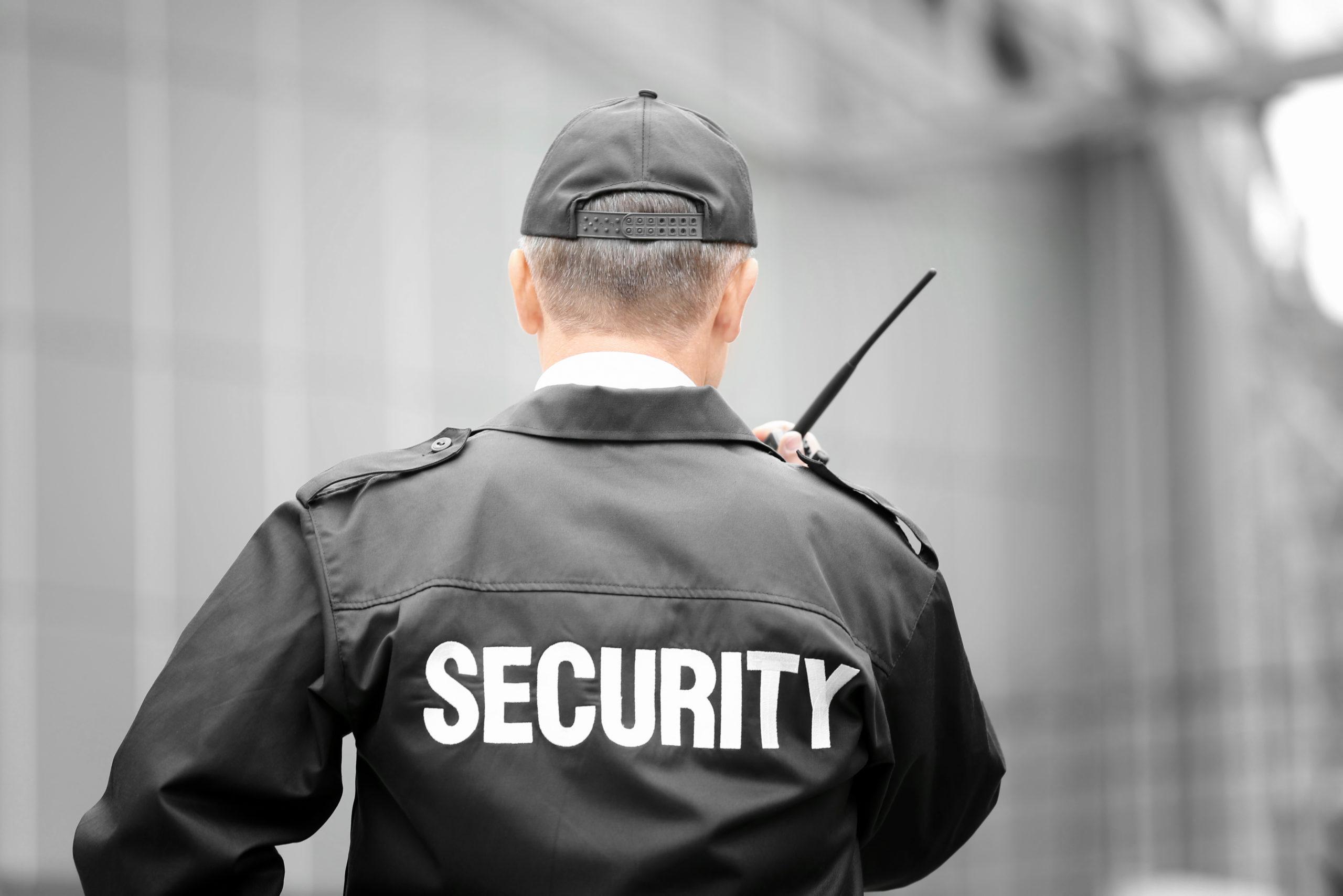 Security Guard Portable Radio