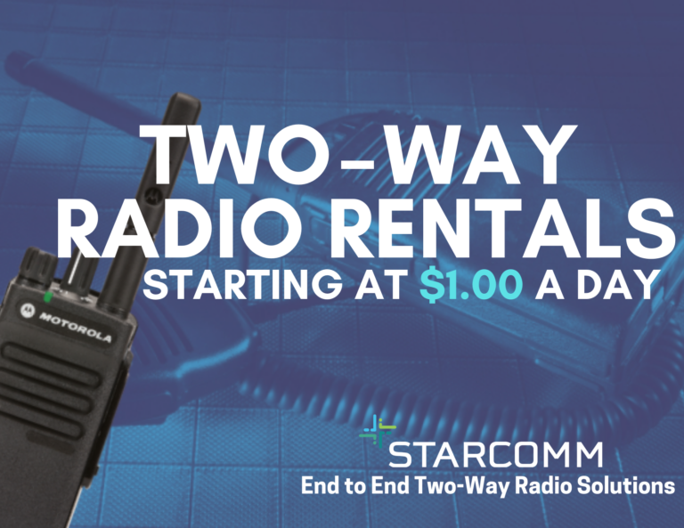 Two Way Rentals Starting At $1.00 a Day
